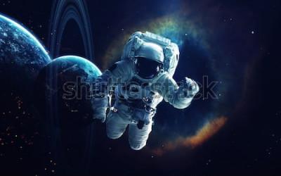 Obraz Kosmické umění, sci-fi tapety. Krása hlubokého vesmíru. Miliardy galaxií ve vesmíru. Prvky tohoto obrázku poskytnuté NASA