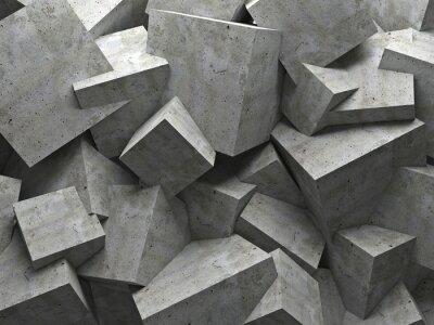 Obraz kostky zeď