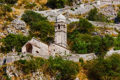 Kotor fortress and Old Town - Montenegro