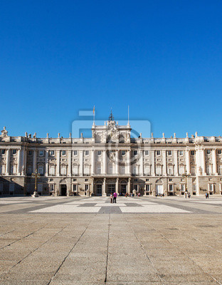 Královský palác v Madridu.