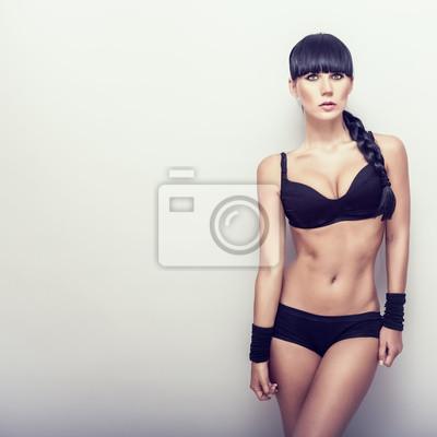 Krásná dívka fitness