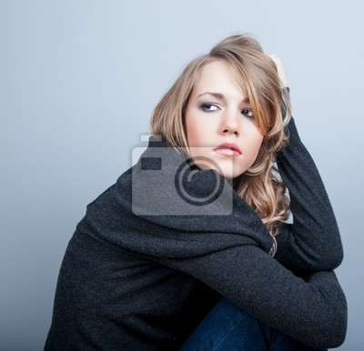 krásná mladá žena Grievese