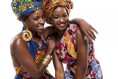 Obraz Krásné africké módy modesl v tradičním oděvu.