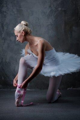 Obraz Krásné baletní tanečník