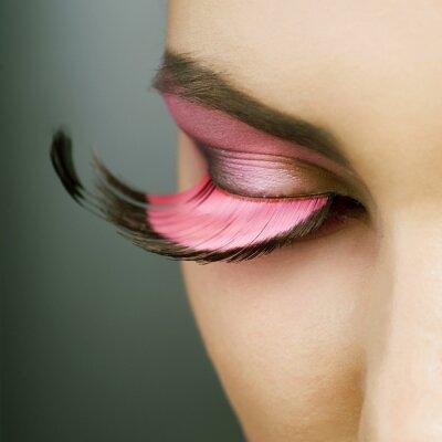 Obraz Krásné módní Dovolená make-up