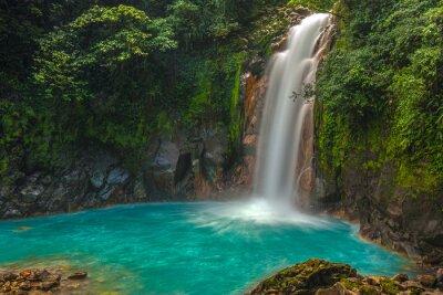 Obraz Krásné Rio Celeste vodopád