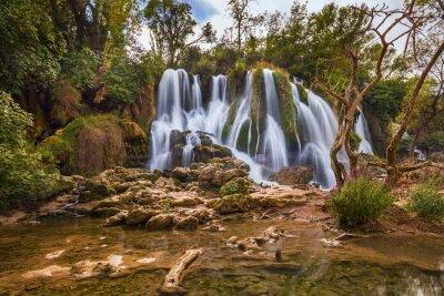 Obraz Kravice vodopád v Bosně a Hercegovině