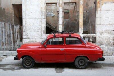 Obraz Kuba, Havana, Oldtimer