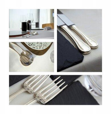 Obraz Kuchyně, gastronomie, restaurace, repas, potrava, plat, menu