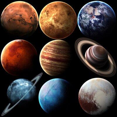 Obraz Kvalita Výška izolované sluneční soustavy planet. Prvky tohoto obrázku zařízený NASA