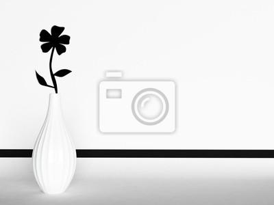 květina vytesaný na zdi