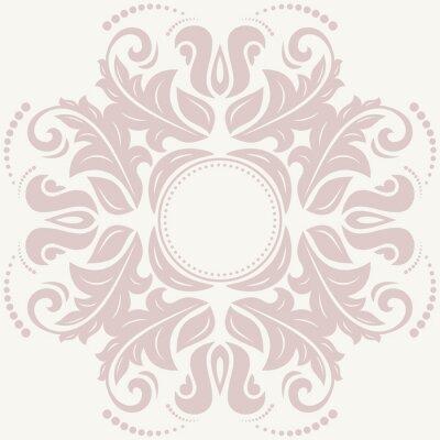 Obraz Květinové abstraktní vzor