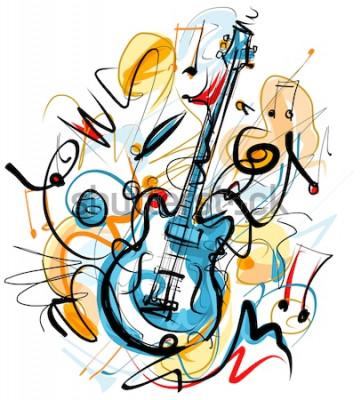 Obraz Kytara sólo