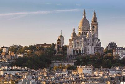 Obraz La Basilique du Sacré Coeur de Montmartre