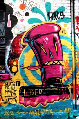 Obraz LA ulice, Melbourne