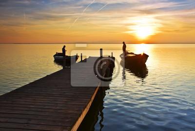 Obraz La vida en el lago