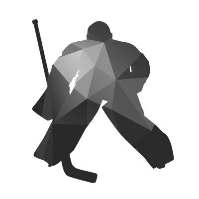 Obraz Lední hokej brankář