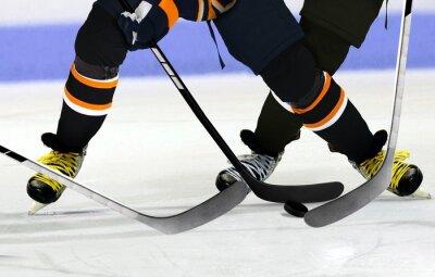 Obraz Lední hokejisté na kluzišti