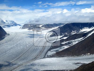 ledovec islandu řeka
