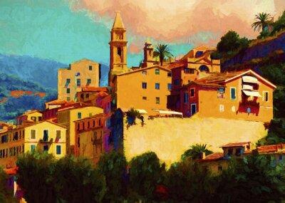 Obraz Liguria landscape