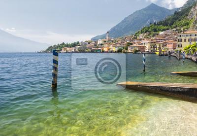 Limone sul Garda at Lake Garda, Italy