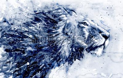 Obraz Lion 3 black&white