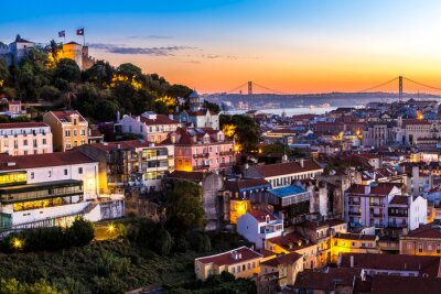 Obraz Lisabon na nigth