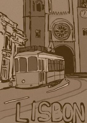 Obraz Lisabon vinobraní