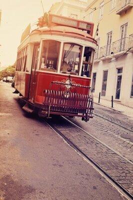 Obraz Lisbonne (tram électrique)