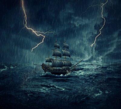 Obraz loď duchů
