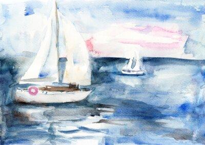 Obraz Lodě v moři