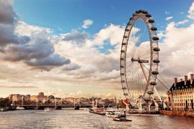 Obraz Londýn, Anglie panorama UK. Řeka Temže