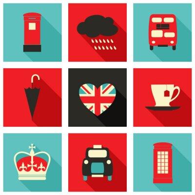 Obraz Londýn Icons Collection