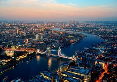 Obraz Londýn v noci