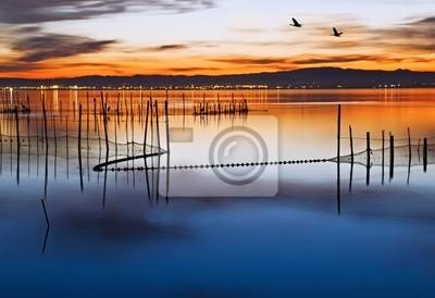 Obraz Los Patos y el lago