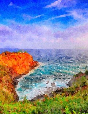 Obraz Maják Kauai