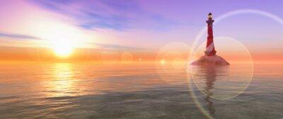 Obraz Maják na pobřeží
