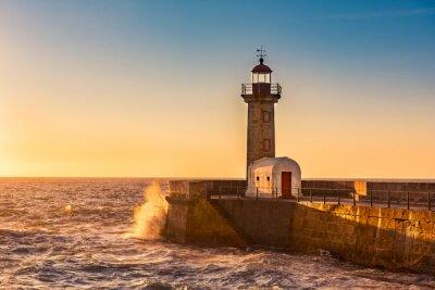 Obraz Maják Porto, Portugalsko