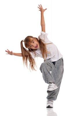 Obraz Malá dívka tančí