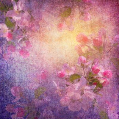 Obraz Malba jarní květinové umění