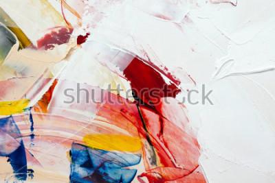 Obraz malované abstraktní pozadí
