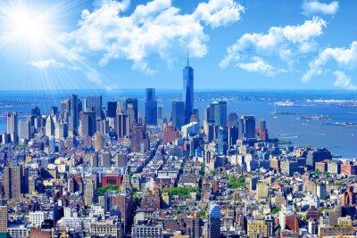 Obraz Manhattan skyline