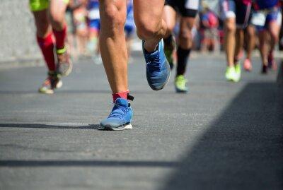 Obraz Maraton běžců