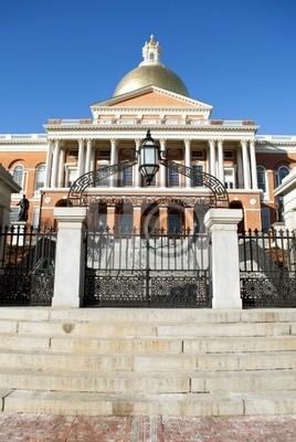 Massachusetts State House.