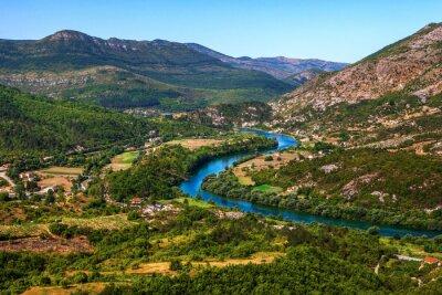 Obraz Meandru řeky