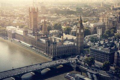 Obraz Město Londýn letecký pohled