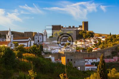 Město Obidos - Portugalsko
