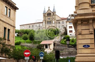 Město San Sebastian.