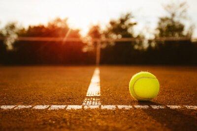 Obraz Míček na tenisový kurt