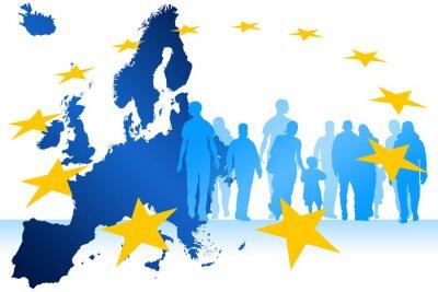 Obraz Migranti Europe